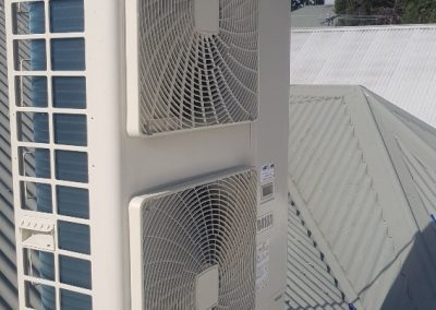 A residential Daikin 14KW Outdoor unit changeover done by Artic Air in Kensington Gardens