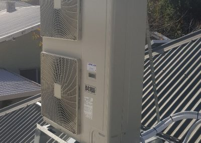 A residential Daikin 14KW Outdoor unit changeover done by Artic Air in Norwood