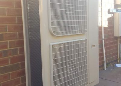Carrier outdoor Inverter unit ducted Beulah Park-Residential