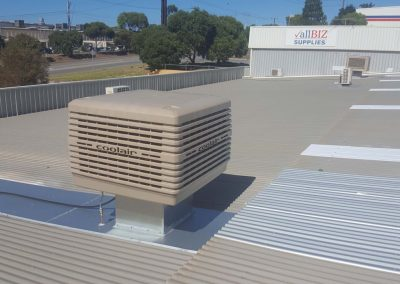 Commercial Coolair Evaporative Installations in Lonsdale