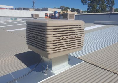Commercial Coolair Evaporative Installations in Richmond