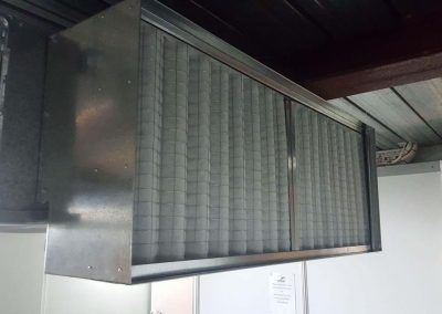 Custom Made return air intake Commercial project Adelaide