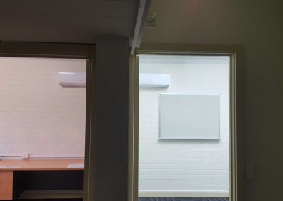 Hi-wall installations commercial office project Adelaide