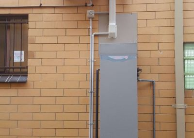Hi-wall installations office project Hitachi 5Kw outdoor unit Morphettvale