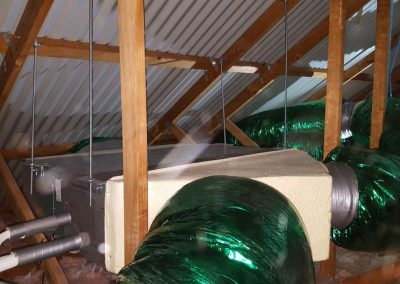 High Efficiency ducting indoor ducted unit Residential Adelaide