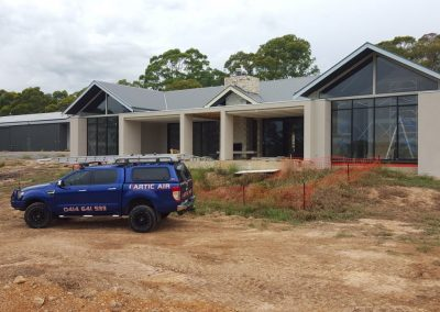 High End Architectally desinged residential AC projects Adelaide