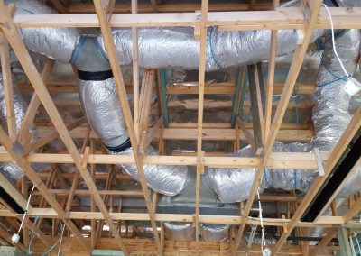 High End Builders residential projects Actron- Duct Air Energy smart R1.5 ducting Netherby