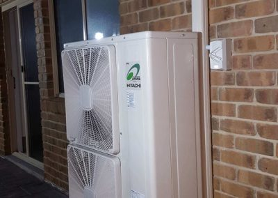 Hitachi 16Kw Inverter ducted outdoor unit Residential Woodcroft