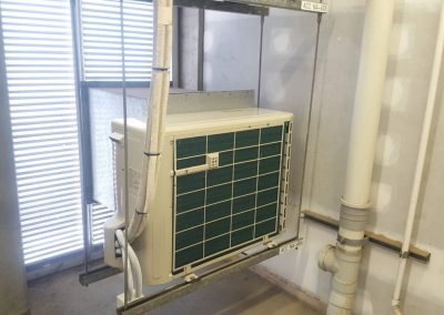 Hitachi 5Kw Outdoor Hi-Wall split system Residential Apartments Adelaide