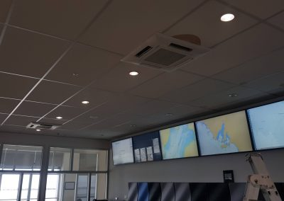 Installing special application control rooms in outer harbour, Adelaide