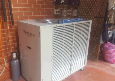 Large Scale residential Installation Temperzone 29Kw Outdoor Unit Burnside