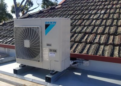 Residential Daikin 7.1Kw Changeover installations all done in house and Not sub contracted out Glenside