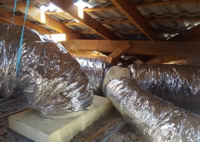Return Air ducting Residential Daikin 7.1Kw Lower Mitcham