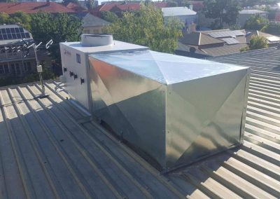 Specialised Packaged AC units to suit residential fit outs Gilberton