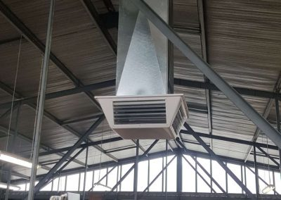 Specialising in commercial Evaporative Changeover installations Braemar Richmond dropper duct