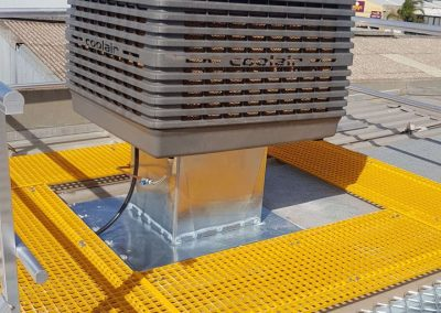 Specialising in commercial Evaporative Changeover installations Coolair Richmond
