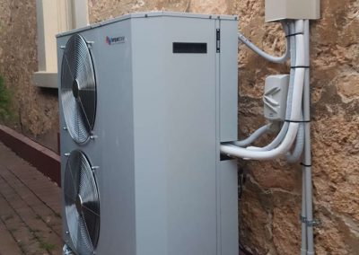 Temperzone 16Kw installation Heritage listed North Adelaide