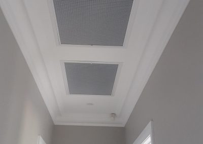 We installed these classic style ceiling vents from Daikin for a commercial client in Parkside