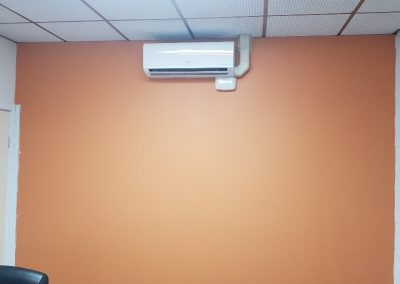 We installed this efficient air conditioning unit in a commercial building in suburban Adelaide
