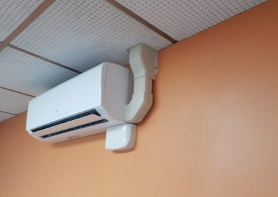 We installed this efficient air conditioning unit in an Adelaide commercial building